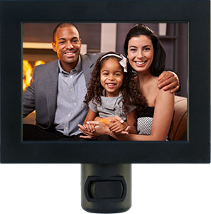 Make a custom night light from your family photo.